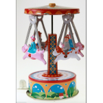 Merry Go Round Carousel with Trigger Spinner