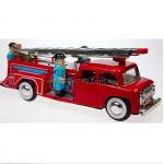 Fire Engine Truck Siren & Bell