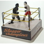Boxers in Ring Tin Toy